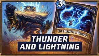 Thunder and Lightning | Rise of Shamans | Hearthstone