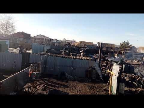Возгорание Саратовская область Калининский район село Таловка произошло из за соседей.