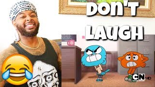 Dirty Adult Joke Compilation The Amazing World of Gumball | Try Not To Laugh Reaction
