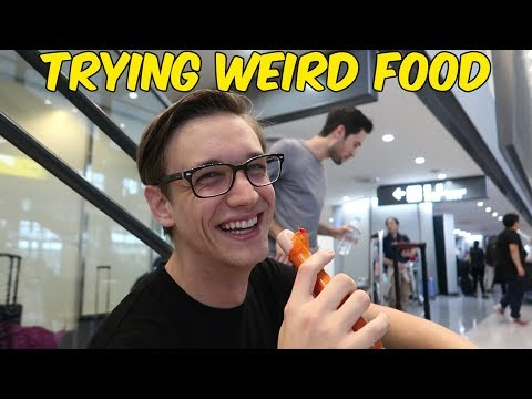 Trying Weird Food in Tokyo