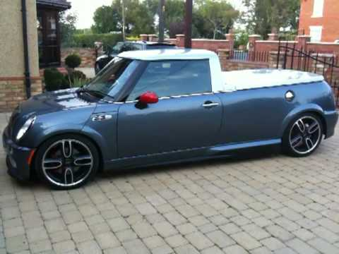 bmw mini gp pickup youtube. Black Bedroom Furniture Sets. Home Design Ideas