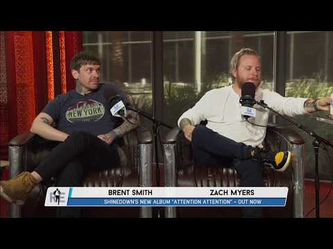 Brent Smith & Zach Myers Talk New Shinedown Album & More w/Rich Eisen | Full Interview | 7/5/18