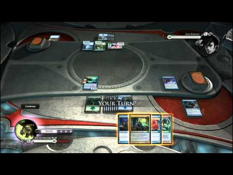 Magic the Gathering - Duel of the Planeswalkers - AD Deck Gameplay Test 3