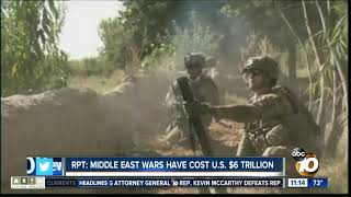 Report: Middle East wars cost $6 trillion