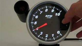"""5"""" Tachometer - Functions & Features"""