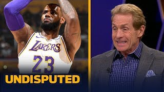 Skip Bayless disqualifies LeBron from GOAT discussion due to free throw liability | NBA | UNDISPUTED