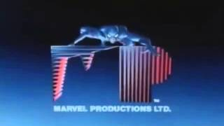 Marvel Productions and Sunbow Entertainment logo history