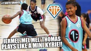 Jermel 'Mel Mel' Thomas IS A MINI KYRIE IRVING!! | TopElite150 All-Star Highlights