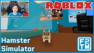 OH, MI CUTE HAMSTER OVERLOAD en Roblox Hamster Simulator