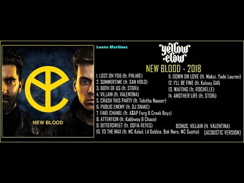 YELLOW CLAW - NEW BLOOD (FULL ALBUM) [2018]