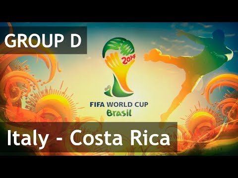 #24 Italy - Costa Rica (Group D) 2014 FIFA World Cup