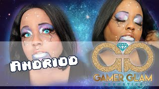 Gamer Glam Cosmetics ✧ Android Look