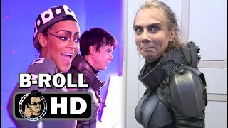 👾 😆 VALERIAN Official B-Roll Bloopers Gag Reel (2017) Cara Delevingne, Rihanna Sci-Fi Movie HD