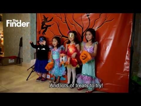 The Finder x Cluny Court Trick or Treat Halloween Hunt! HD