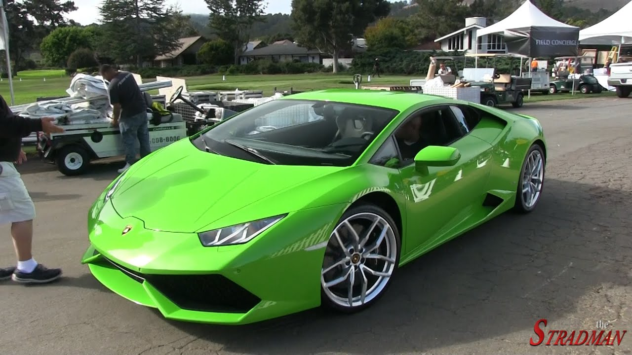 brand new verde mantis lamborghini huracan driving in california youtube. Black Bedroom Furniture Sets. Home Design Ideas