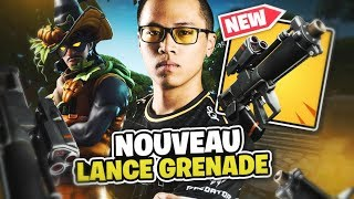 DECOUVERTE OF THE NEW ARME A TROP TROP CHEATE ON FORTNITE BATTLE ROYALE