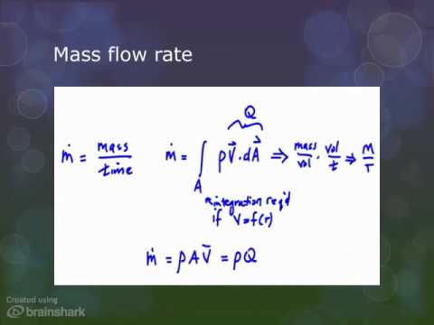 Volume flow rate and mass flow rate youtube ccuart Image collections