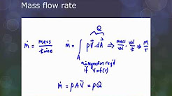 Volume Flow Rate and Mass Flow Rate