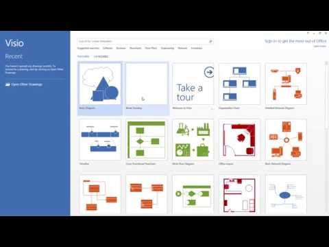 Visio 2013 Quick Review