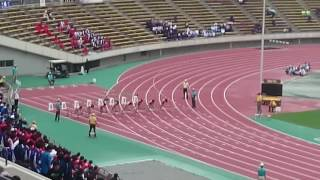 2016兵庫IH 女子100m決勝