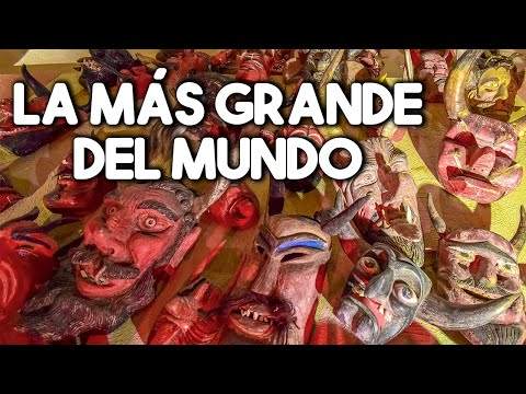 La colección de MASCARAS más grande DEL MUNDO / Museo Rafael Coronel - ZACATECAS.