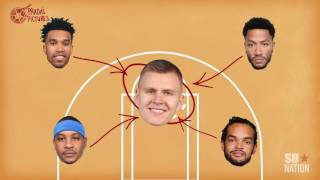 Kristaps Porzingis is the key to the Knicks' offense