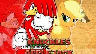 Tails X Twilight - Knuckles X Applejack ( 2 in 1 Video )