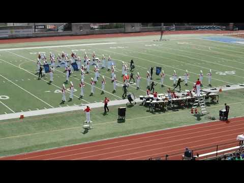 Boston University Marching Band- Superhero Showdown Show at Allentown College Band Festival 2018