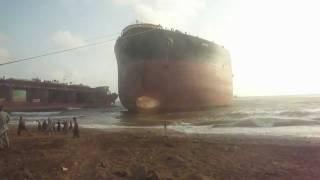 Oil Tanker at Gadani Ship Breaking Port