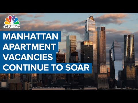 N.Y.C. apartment vacancies hit a new all-time high as renters leave the city amid the pandemic