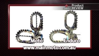 mxtv product review raptor foot pegs