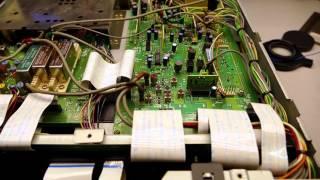 Ajuste y pequeña reparacion de kenwood TS-450S f4v