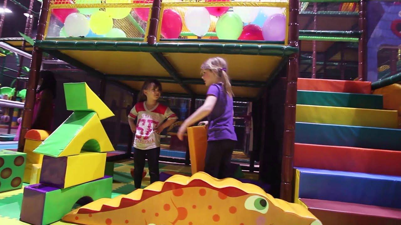 Lost World\'s Adventures Indoor Playground - Livermore, CA - YouTube