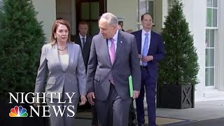 President Donald Trump And Dems Strike Deal For $2 Trillion Infrastructure Plan | NBC Nightly News