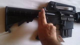 Unboxing Walther M4 Colt cal.22 lr [ITA]