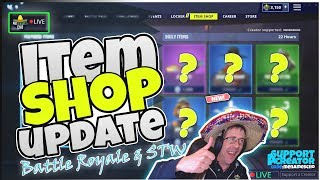 🏈MenamesCho's LIVE 🔵 NFL SKINS 👈 ITEM SHOP UPDATE 🏈Fortnite Battle Royale Thursday 5th Sept 2019