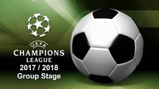 Champions League 2017/2018 Matchweek 5 - Scores, Scorers & Table