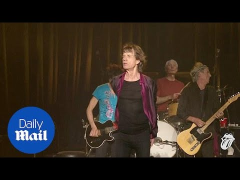 The Rolling Stones played surprise concert in LA during 2015 - Daily Mail