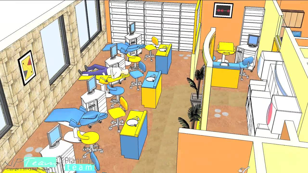 Orthodontist office Design by NPTeam - YouTube