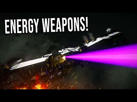 ENERGY WEAPONS! - Space Engineers Mods!