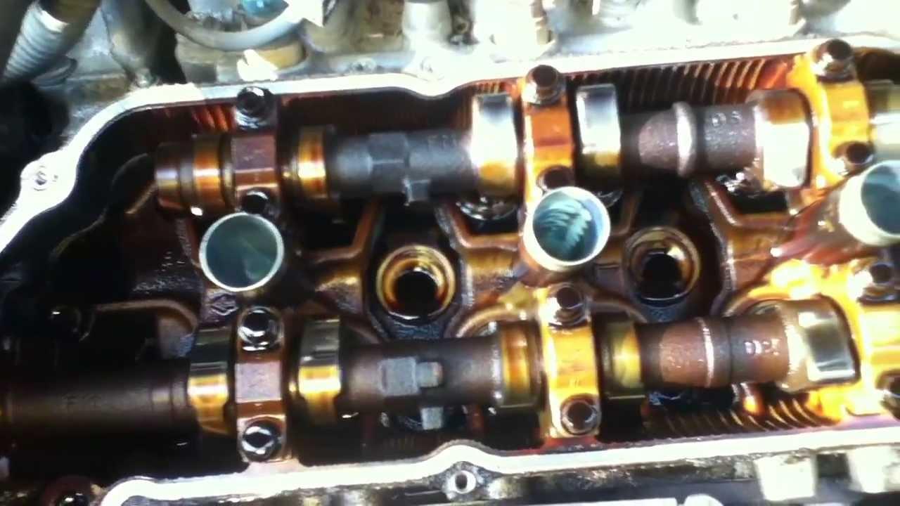 1998 Toyota Sienna Engine Under Valve Cover Sept 2 2012