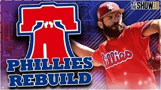 PHILADELPHIA PHILLIES REBUILD! BLOCK BUSTER TRADES! | MLB the Show 18 Franchise Rebuild