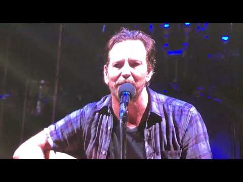 Pearl Jam  Were Going To Be Friends  Safeco Field August 8, 2018