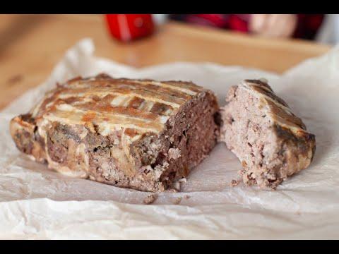 Террин из фарша и куриной печени! Прекрасная альтернатива печеночному торту
