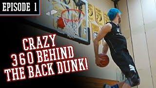 Jumping HIGHER! Jordan Kilganon Punches 360 Behind The Back Video