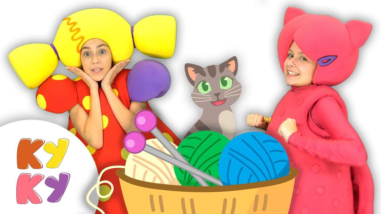 ВЯЖЕМ - Кукутики - Мультфильм песенка про вязание для Детей