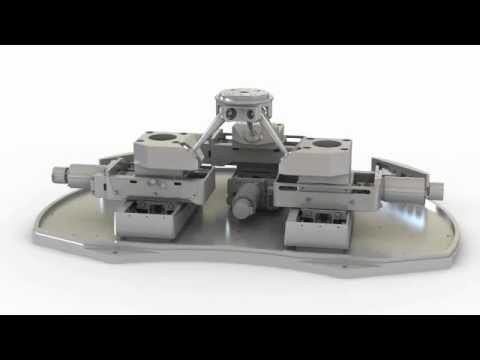 PlanarPod 6-DOF Motion Platform / Vacuum 6-Axis Robotic Parallel Positioning System: by PI miCos