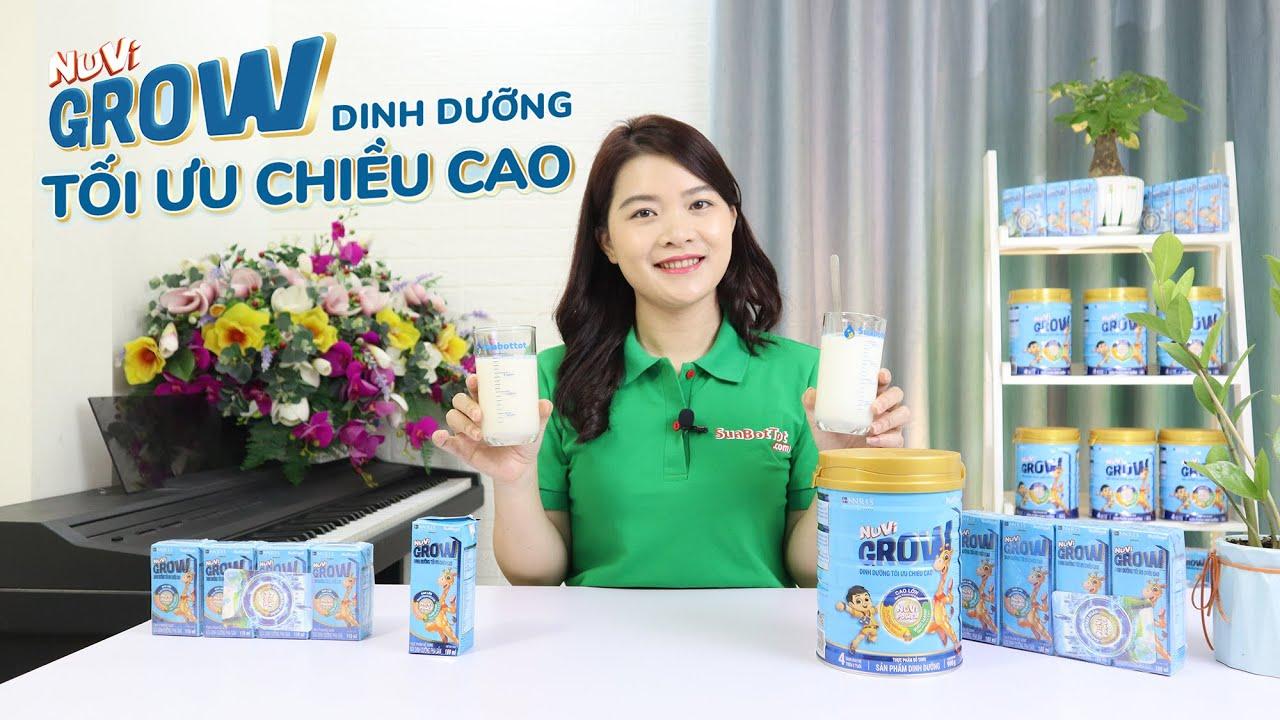 So sánh chất lượng sữa bột pha sẵn và sữa bột Nuvi Grow loại nào tốt hơn?