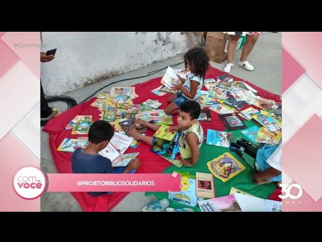 Projeto bibliosolidários: doe livros infantis e infantojuvenis - Com Você