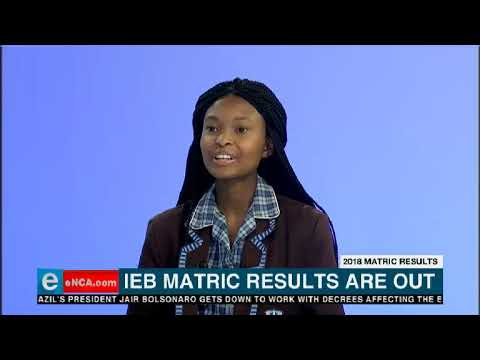IEB Matric results are out